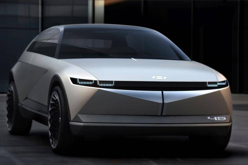 Oh, wat ziet die elektrische Hyundai Ioniq 5 er gaaf uit!