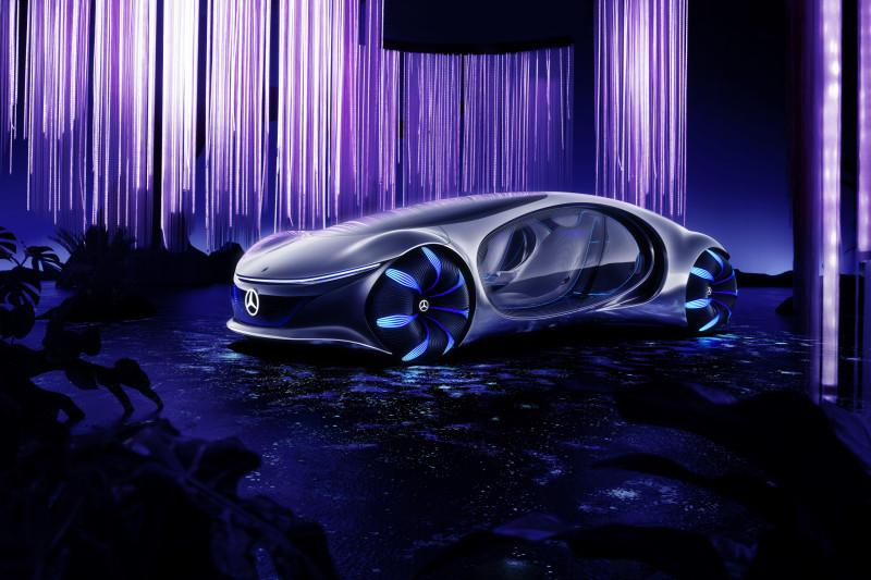 Rara, op welke film is de Mercedes-Benz Vision AVTR geïnspireerd?