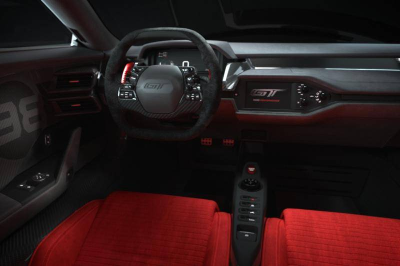 Vierde Ford GT Heritage Edition, want ja ... er is nog meer 'heritage'