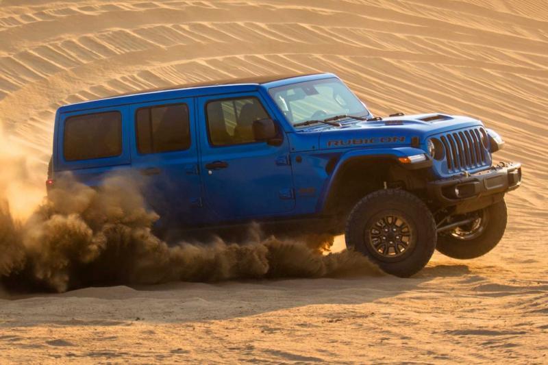 Hoe onzinnig is de Jeep Wrangler Rubicon 392?