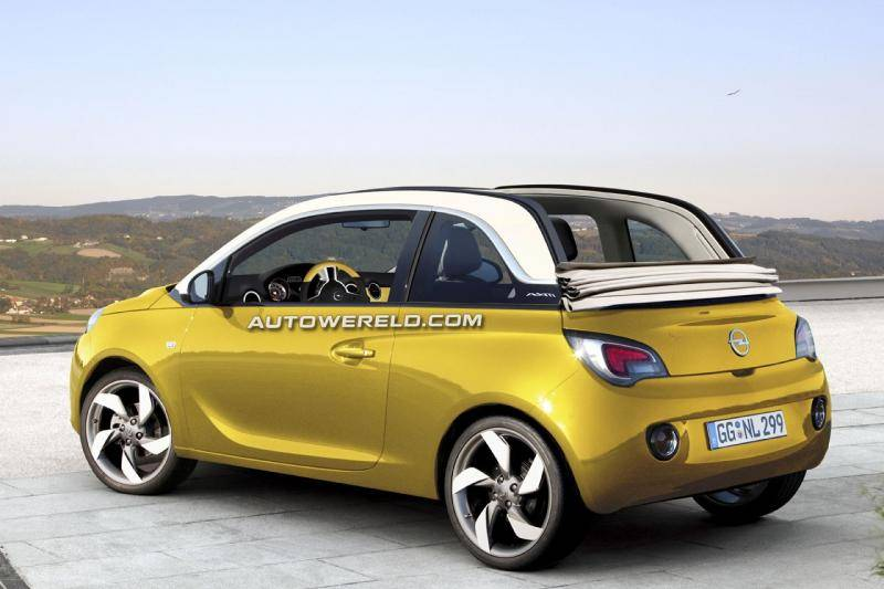 dossier opel adam cabrio. Black Bedroom Furniture Sets. Home Design Ideas