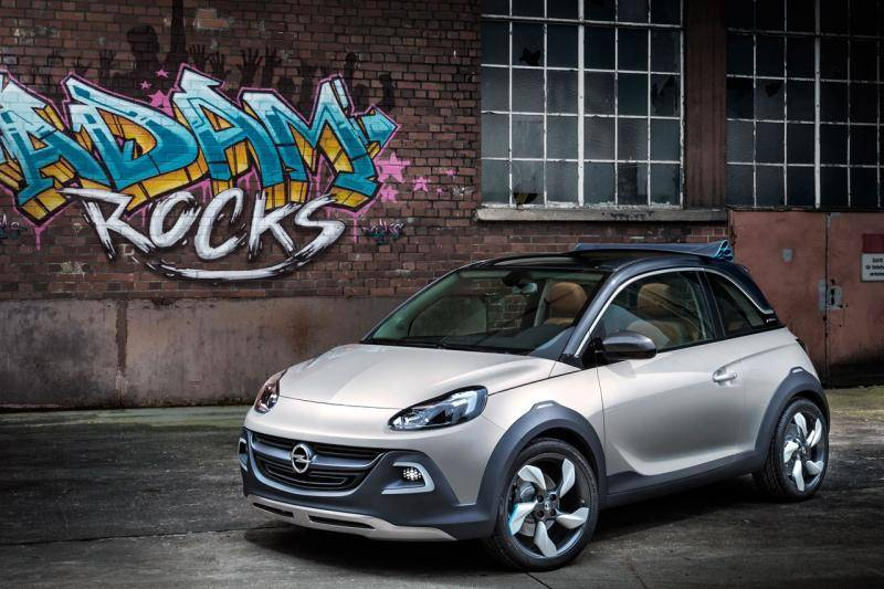 dossier opel adam rocks. Black Bedroom Furniture Sets. Home Design Ideas