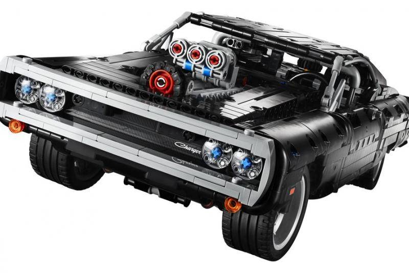 Dodge Charger uit The Fast and the Furious nu van Lego