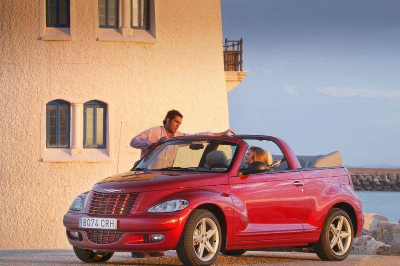 alles over de chrysler pt cruiser cabrio. Black Bedroom Furniture Sets. Home Design Ideas