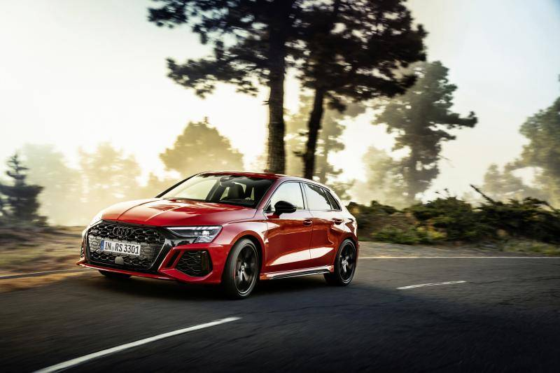 The new Audi RS 3: why the Mercedes-AMG A 45 S 4Matic+ can start sweating