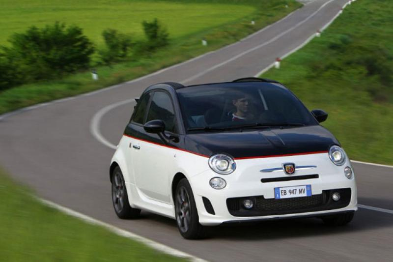 Abarth 500 C prijzen en specificaties