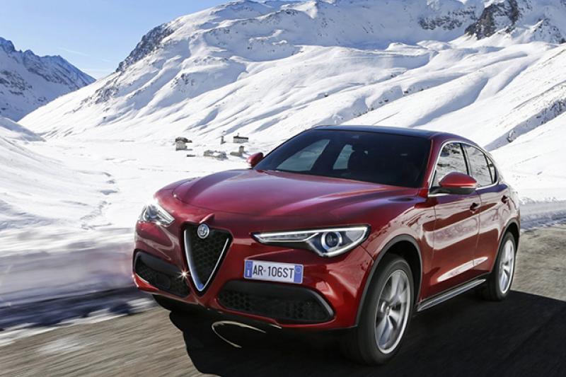 Alfa Romeo Stelvio prijzen en specificaties