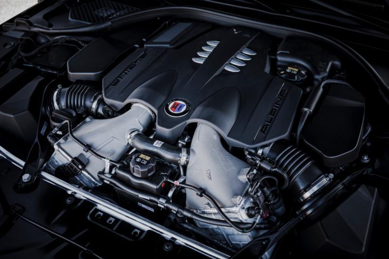 Alpina B8 Gran Coupé laat de BMW M8 in het stof achter