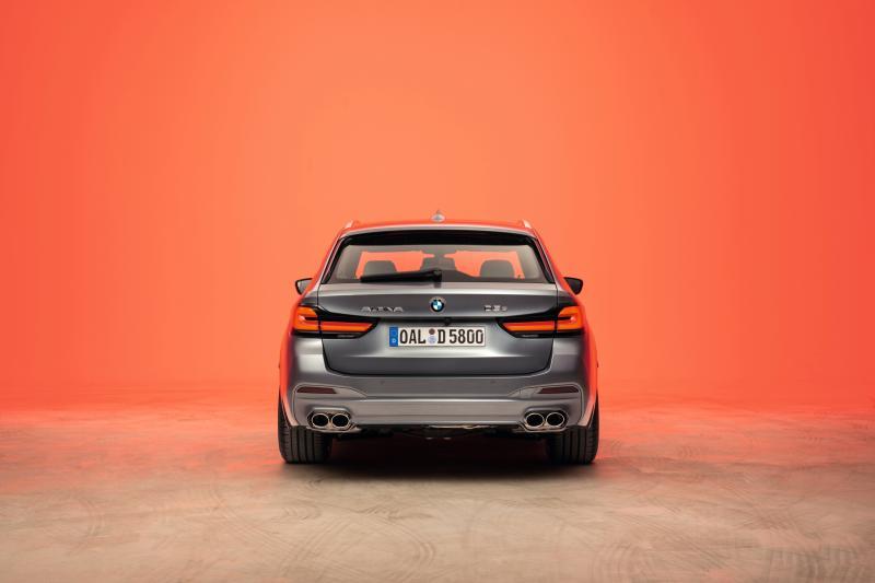 Nieuwe Alpina B5 is 621 pk sterk en haalt een top van 330 km/h