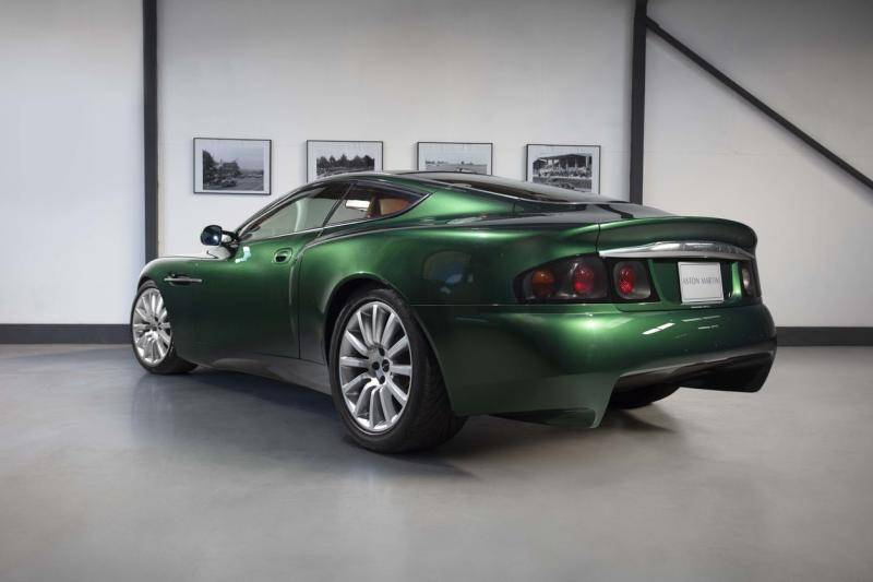 Te koop: Dit Project Vantage-studiemodel werd de Aston Martin Vanquish