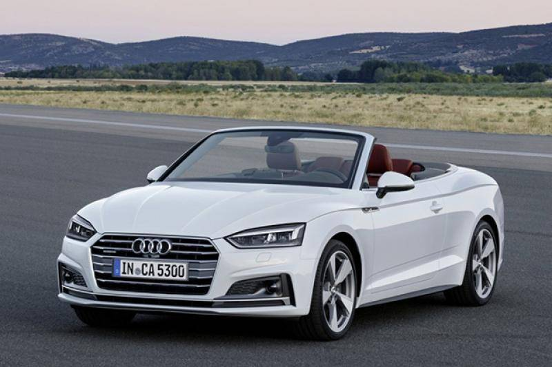 Audi A5 cabriolet prijzen en specificaties