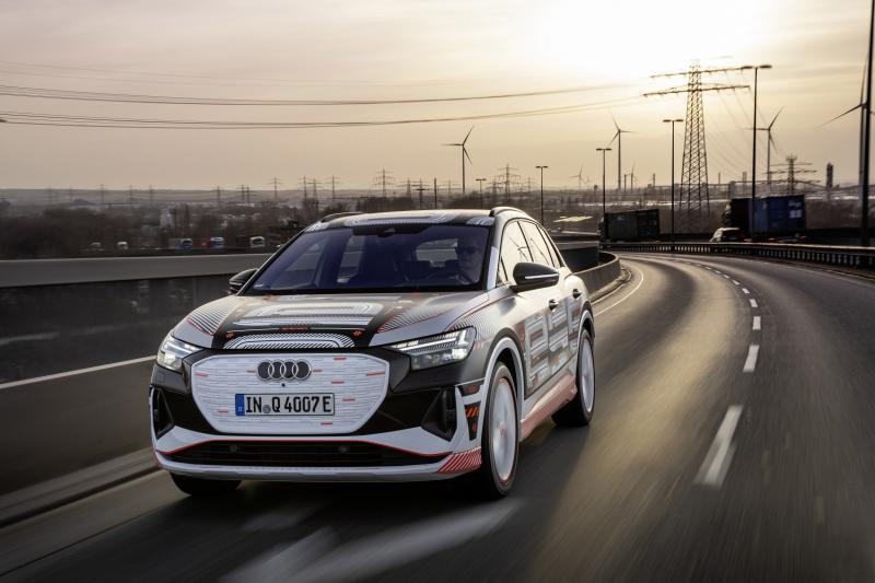 Audi-rijders, hier is jullie volgende leaseauto! De Audi Q4 E-Tron