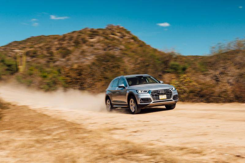 Audi Q5 in Mexico: mooiboy op bootcamp