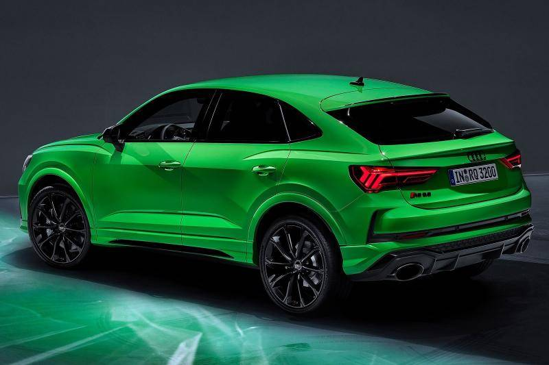 Audi RSQ3 sportback prijzen en specificaties