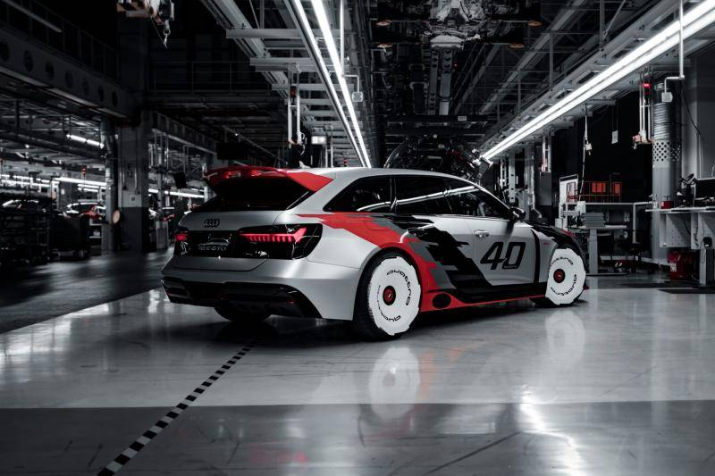 Back to the 80s! Met de extreme Audi RS 6 GTO Concept