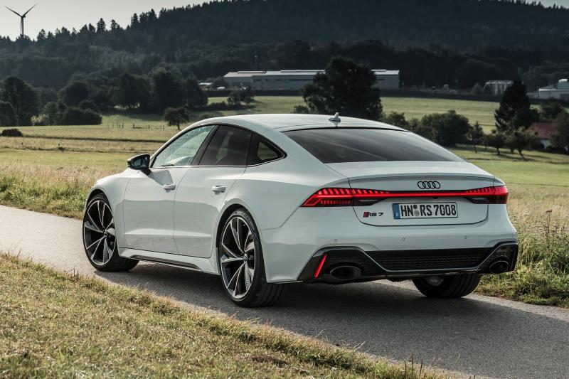 Audi RS7 sportback prijzen en specificaties