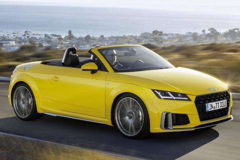Audi TT roadster prijzen en specificaties