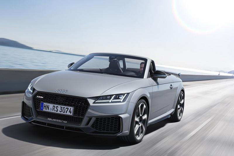 Audi TTRS cabrio prijzen en specificaties