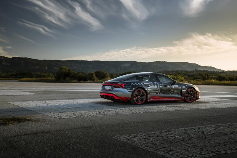 Audi Sport gaat elektrisch met de Audi RS e-Tron GT