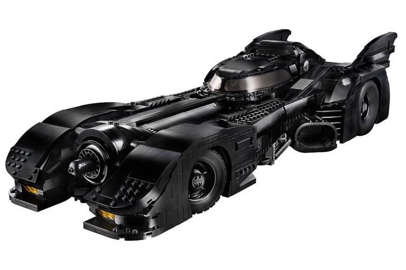 Holy portemonnee, Batman! De Batmobile van Lego is niet goedkoop