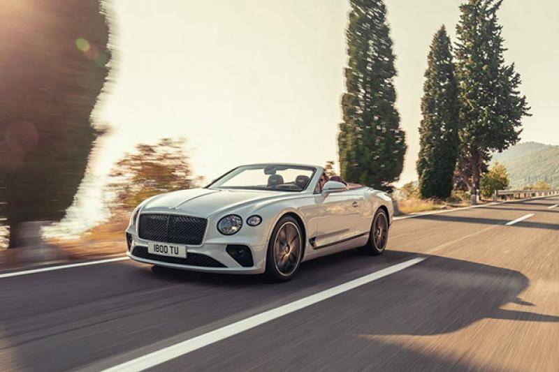 Bentley Continental GTC prijzen en specificaties