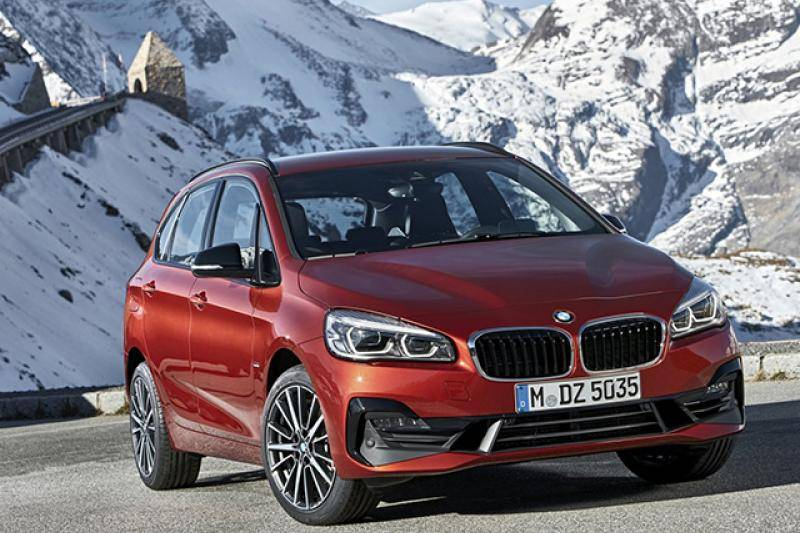 BMW 2-Active Tourer prijzen en specificaties