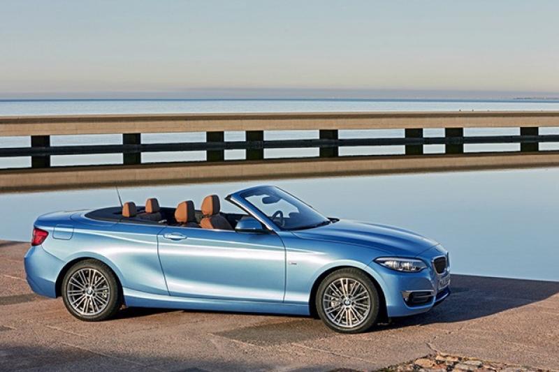 BMW 2-cabrio prijzen en specificaties