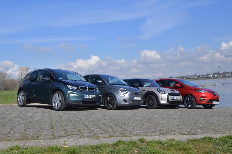 Test elektrische stadsauto's: BMW i3 is na 8 jaar op de markt nog steeds sjiek de friemel