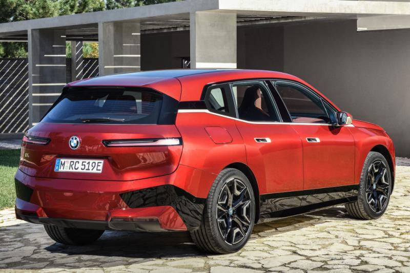 Prueba: ¡el BMW iX eléctrico es una declaración!  Pero no impecable ...