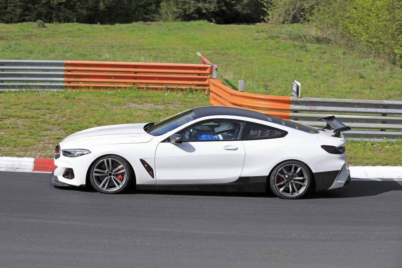 BMW M8 CSL gespot op de Ring. Alsof je een olifant ziet dansen ...