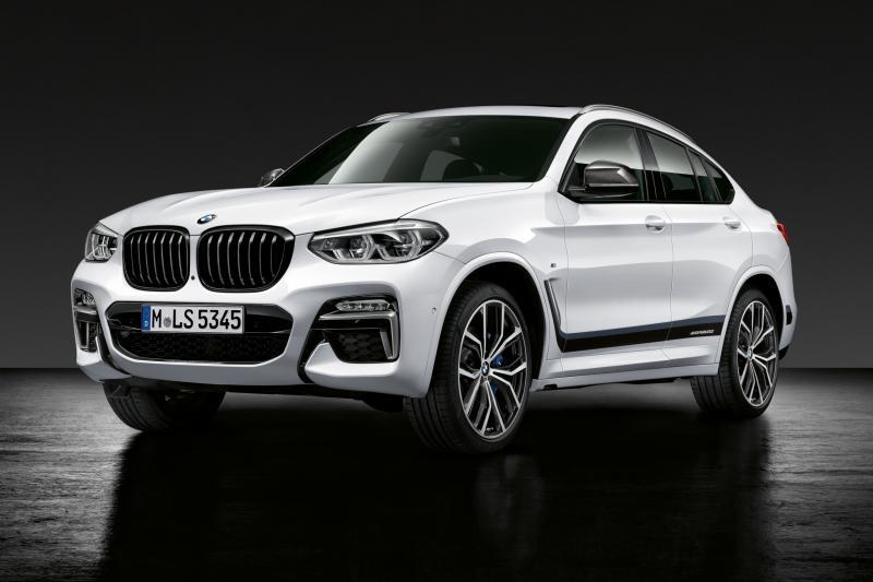 De BMW X4 (2021) krijgt kleine hazentandjes