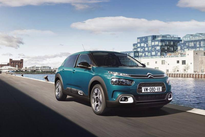 Citroën C4 Cactus prijzen en specificaties