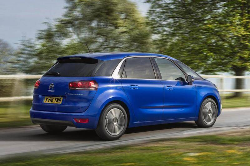 Citroën C4 Spacetourer prijzen en specificaties