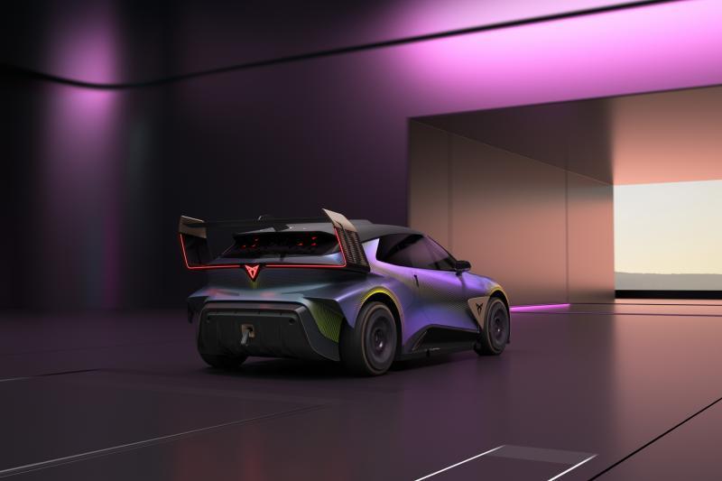 De Cupra UrbanRebel Concept komt in 2025 op de markt. Maar niet zo ...