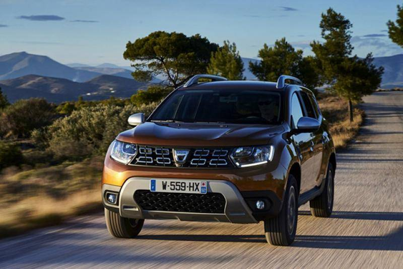 Dacia Duster prijzen en specificaties