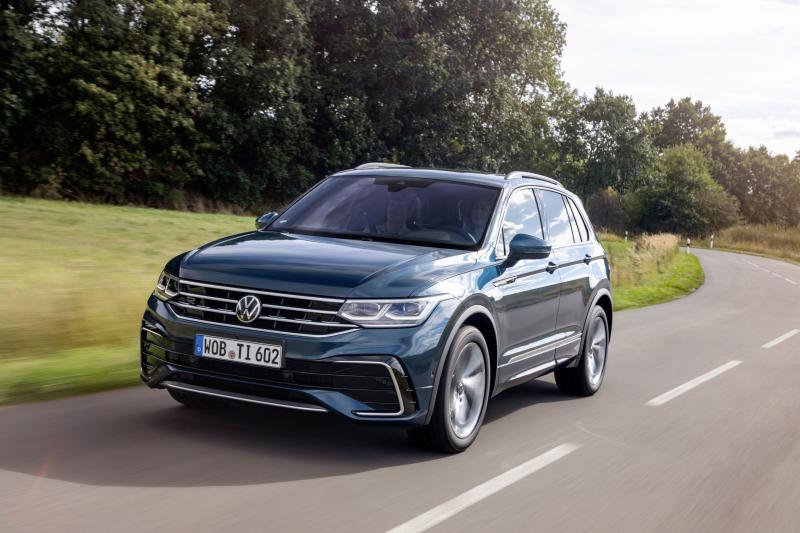Plug-in hybride Volkswagen Tiguan eHybrid heeft lekker veel power