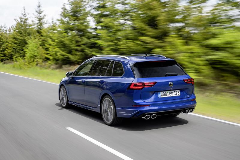 Volkswagen Golf R Variant is the fastest Volkswagen station wagon of all time