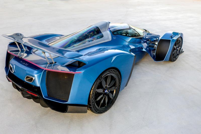 Klassiek Frans merk Delage komt terug met 1100 pk sterke hypercar