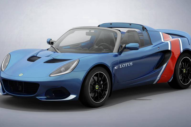 Lotus grijpt terug op raceverleden voor Elise Classic Heritage