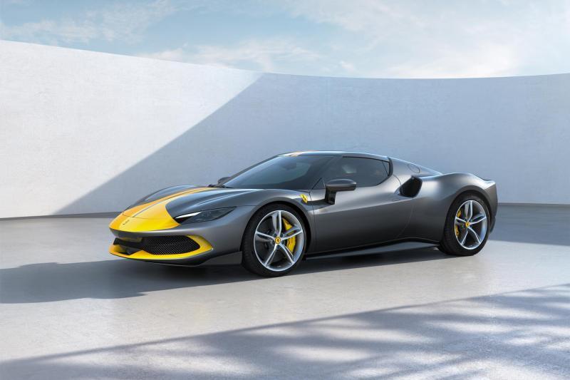 Met de Ferrari 296 GTB kun je volledig elektrisch naar de supermarkt en terug