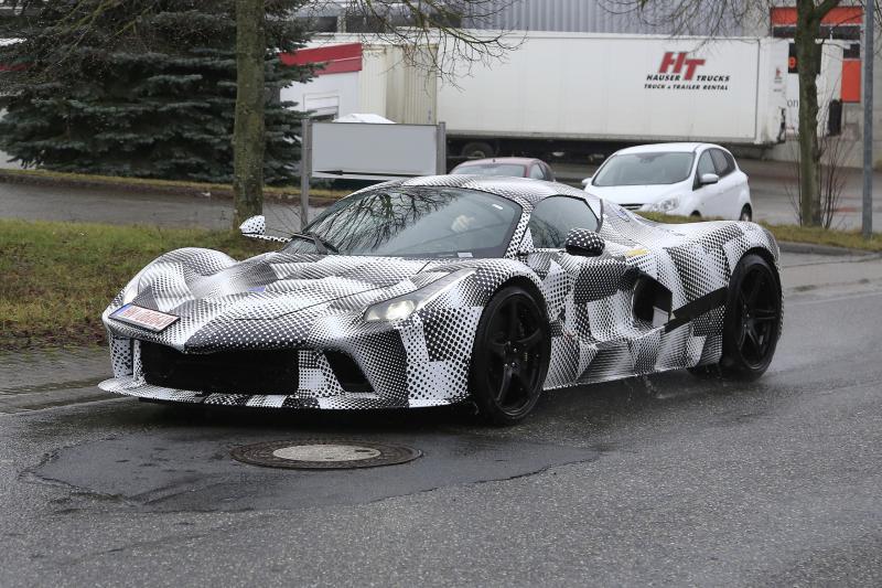 Wat verbergt Ferrari onder dit LaFerrari-prototype?