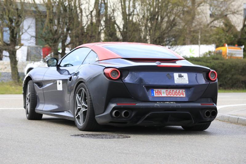 Ferrari Portofino klaar voor laatste ronde