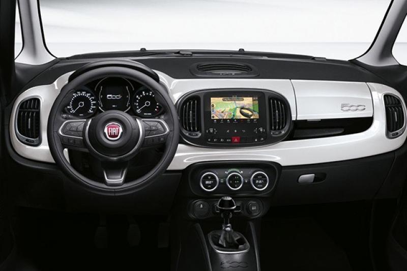 Fiat 500L prijzen en specificaties
