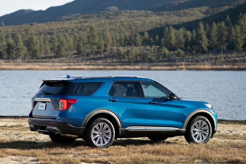 Ford Explorer prijzen en specificaties