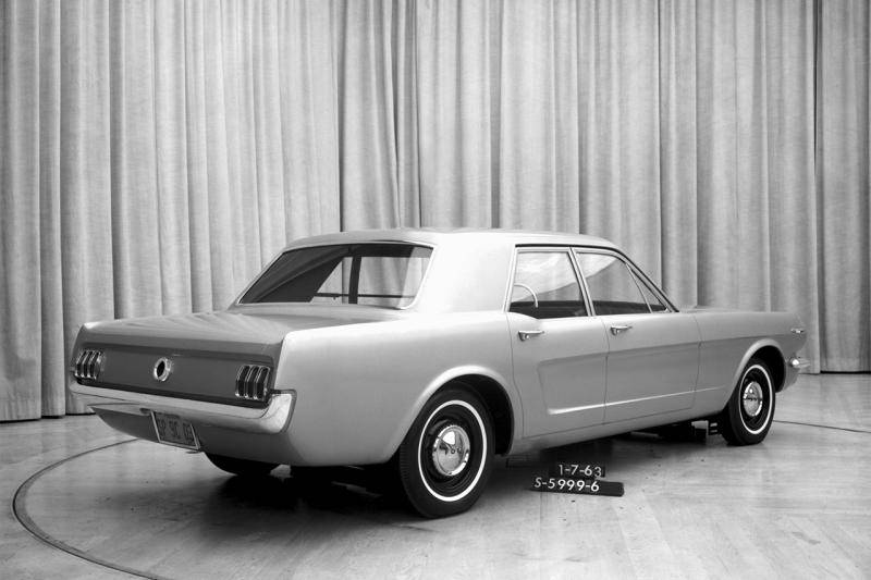 Zie hier: de voorgangers van de Ford Mustang Mach-E