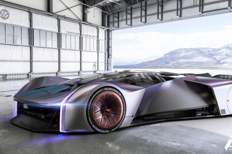 Wat je krijgt als je gamers een racewagen laat ontwerpen