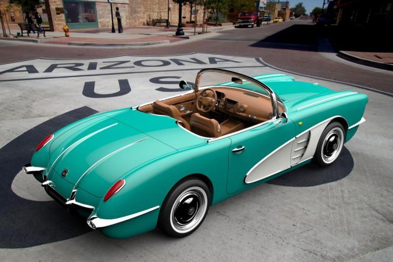 Is dit een Corvette? Nee, het is een kopieer-Chinees