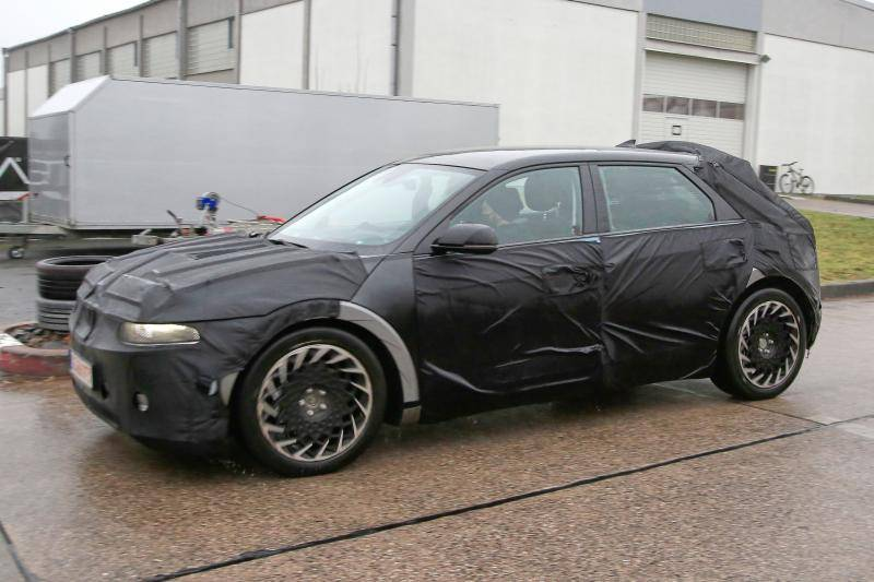 Kijk! Daar is de elektrische (Hyundai) Ioniq 5 al