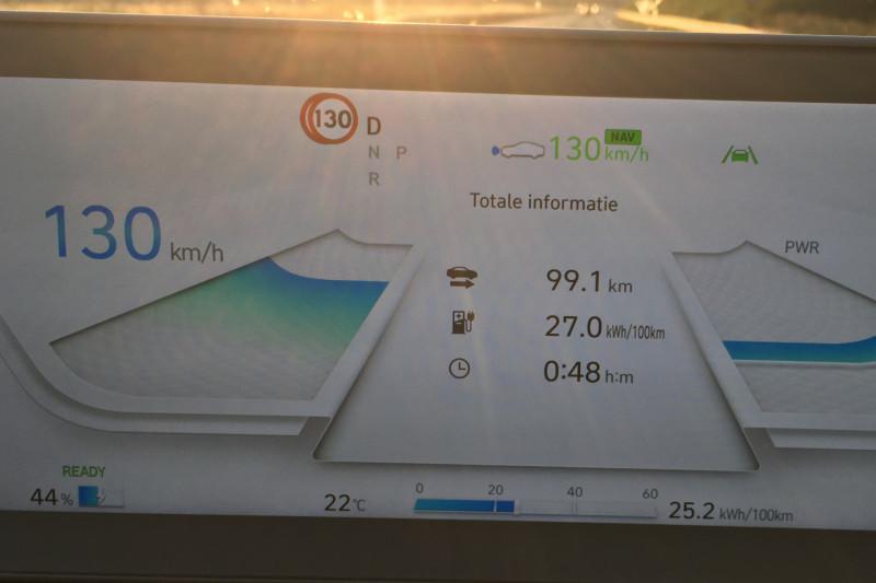 Hyundai Ioniq 5: range measured at 100 and 130 km/h