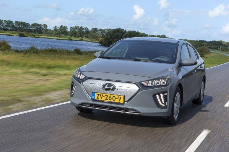 Hyundai Ioniq Electric: actieradius bij 130, 100 en 50 km/h
